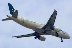An old photo of PIA Airbus A320 AP-BLD.