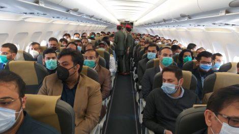 AirSial Proving Flight PF-1786 from Karachi to Islamabad.