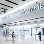 Heathrow Airport international arrivals